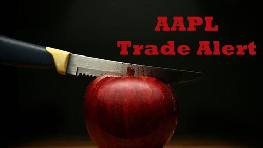 Trade alert options