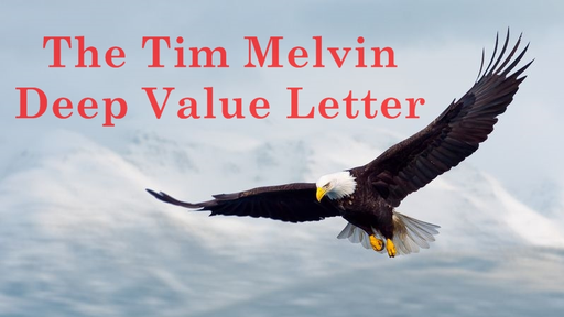 Deep Value Letter